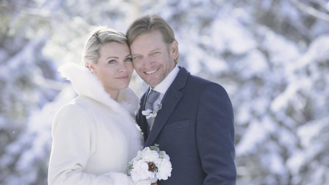 Icy white wedding location a Queensland couple's dream