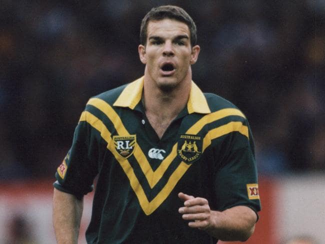 Ian Roberts played rugby league at the highest level.