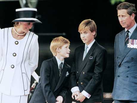 Princess Diana reportedly told her sons 'Do what your heart tells you'. Picture: AFP Photo/Johnny Eggitt