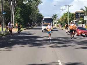 Queen's Baton Relay Hervey Bay