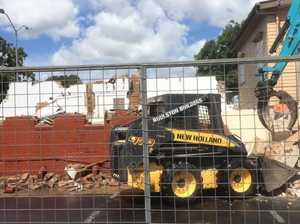 Warwick toilets demolished