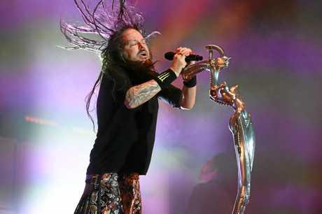 Korn play Download Festival in Melbourne.