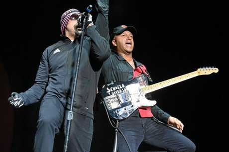 Prophets of Rage play Download Festival in Melbourne.