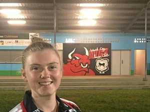 Captain's hat-trick gives Bulls early Easter cheer