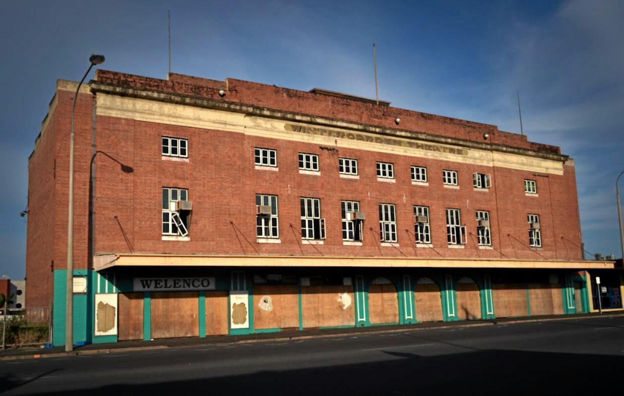 REDEVELOPMENT: Wintergarden Theatre prior to demolition.