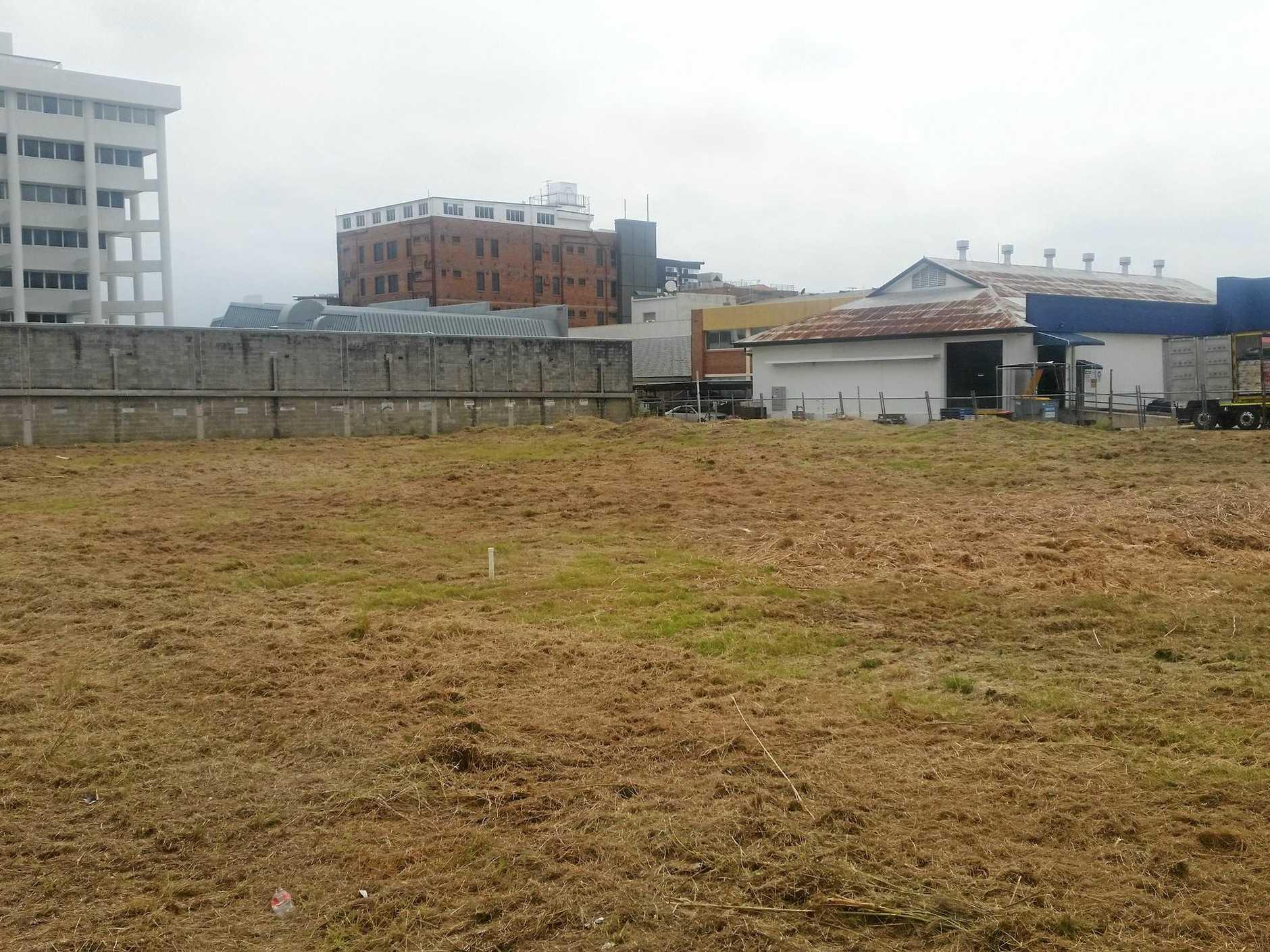 REDEVELOPMENT PLANS: Rockhampton CBD eyesore block on Alma St is set to be transformed.