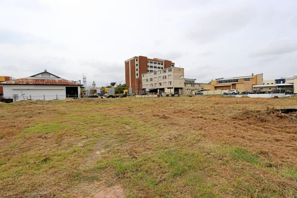 BLOCK REDEVELOPMENT: Rockhampton Region mayor Margaret Strelow revealed Council's bold plans for the long vacant Wintergarden Theatre site on Alma St.
