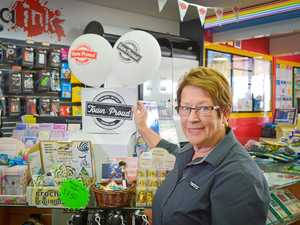 TOWN PROUD: Newsagent knows how to find winners