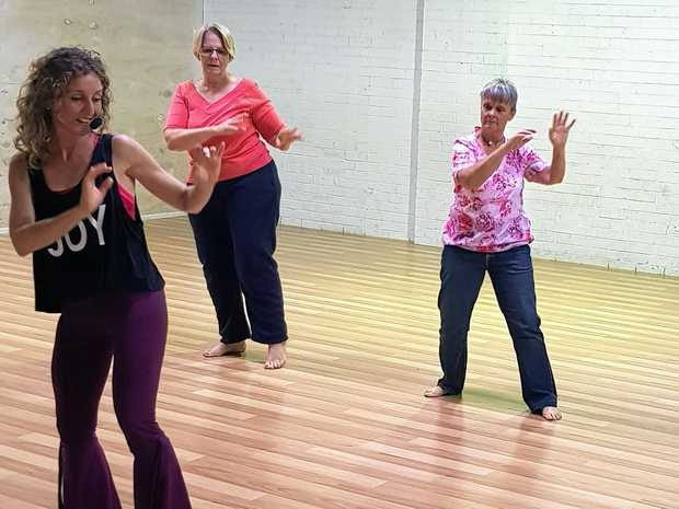 MOVEMENT AND MUSIC: Nia combines dance, martial arts, yoga and mindfulness, and Gentle Nia classes have just started, specifically designed for Seniors.