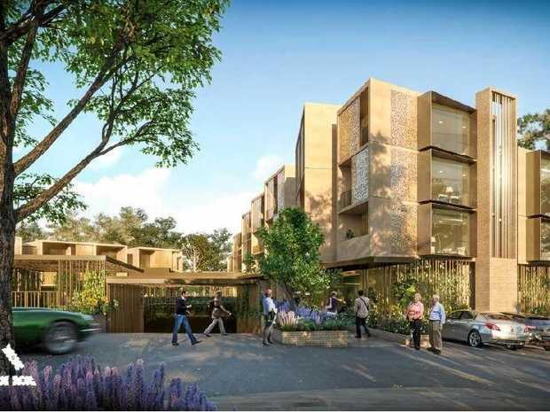 Toowoomba Golf Club and Aura Holdings are partnering in plans to develop a 78-apartment retirement village where the course is literally right outside your door.