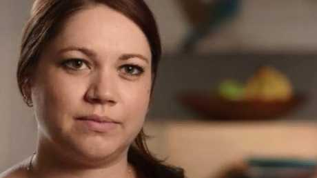 Lisa Pellegrino told ABC Four Corners a former boss failed to pay her $6500 in superannuation. Picture: ABC.