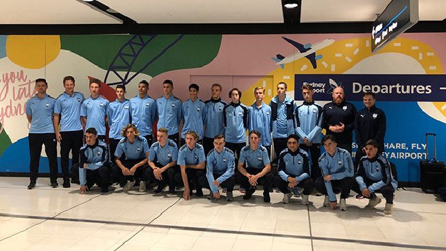 Sydney FC are off to Amsterdam
