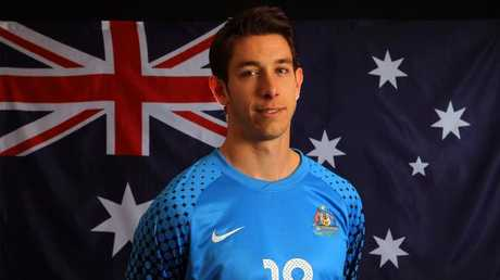 Socceroos reserve goalkeeper Brad Jones