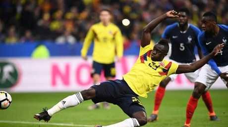 Colombia's defender Davinson Sanchez