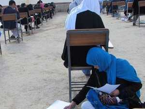 One photo shows the importance of education in the world