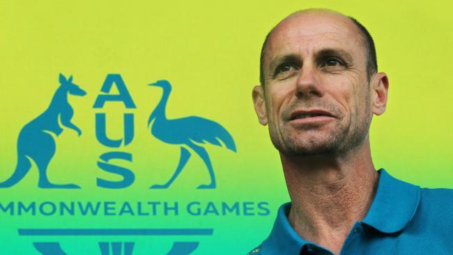 Australian Chef De Mission Steve Moneghetti says the Commonwealth Games can help report Australia's sporting reputation. Picture: Glenn Hampson