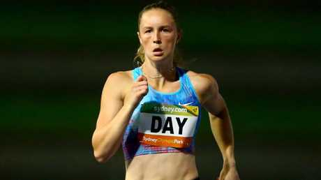 Rising sprint star Riley Day is hoping to make the 200m final at the Commonwealth Games. Photo: AAP