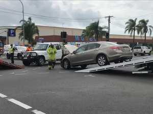 Two-car Pialba crash