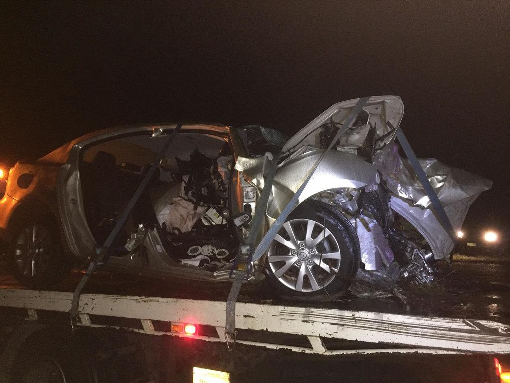 A man has died in a horrific traffic crash on Mittelheuser Rd.