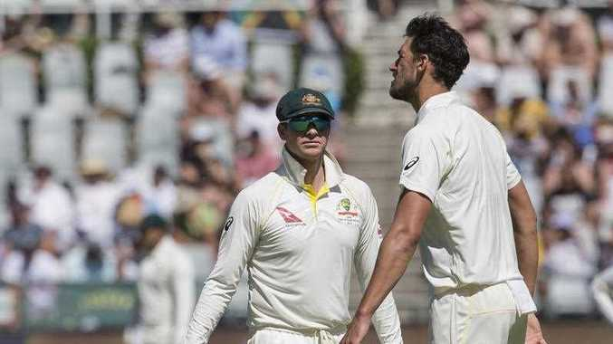 Disgraced Australia cricket captain Smith was banned for one game as he and vice-captain David Warner stepped down from their roles on Sunday, March 25, 2018 amid a cheating scandal that has outraged their country and threatens a far more damaging fallout for one of the game's most exalted teams.
