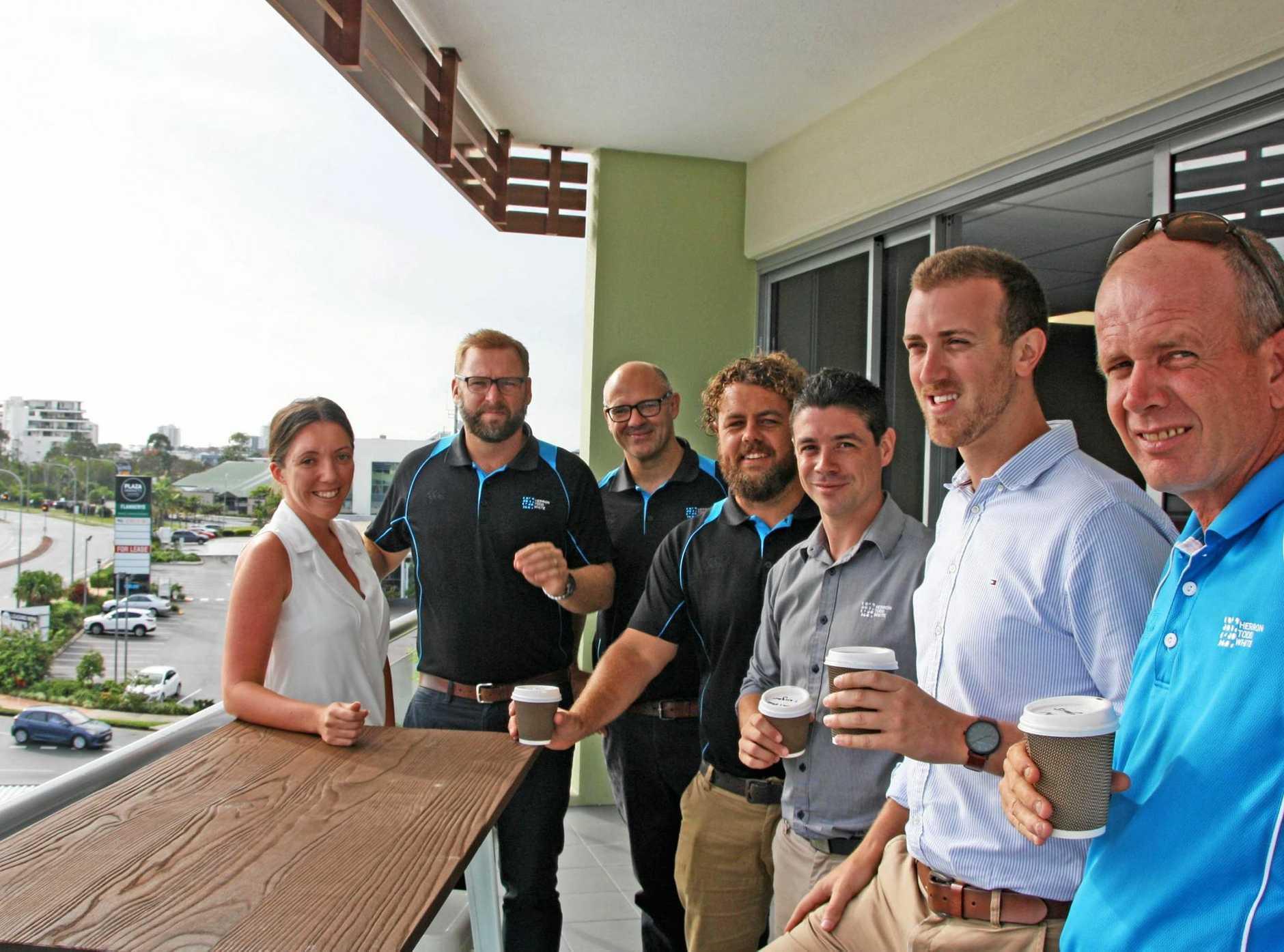 HTW Sunshine Coast move into their new premises at Plaza Pde, Maroochydore.