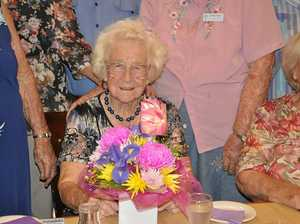 Joan turns 102 with a smile