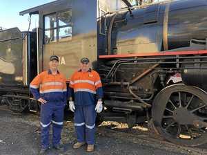 Steam train voyage marks 10 year milestone