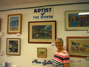 Pam Tyler is Paint Pot artist of the month