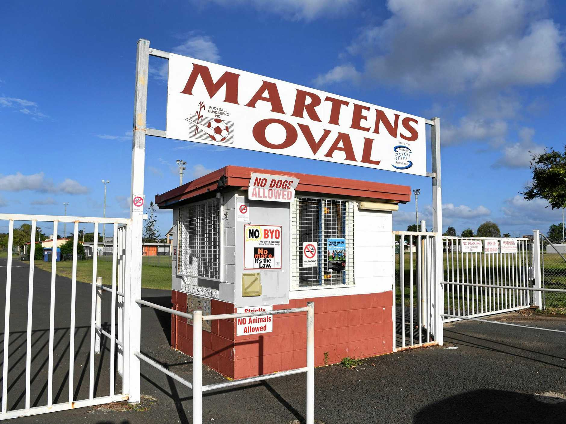 UPGRADE: The state government says it still remains committed to upgrading Martens Oval.