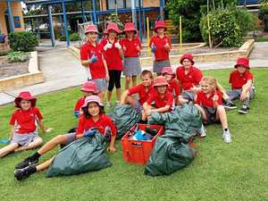 TUCABIA TIMES: Talking rubbish on Clean Up Australia Day