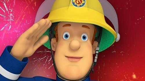 Fireman Sam is visiting Orion Springfield Central this morning.