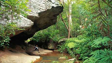 Cania Gorge National Park. Photo contributed by Tourism and Events Queensland