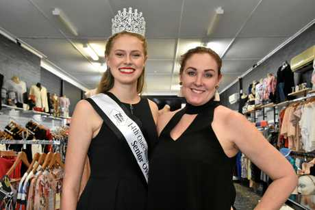 Miss Teen Australia national finalist Anelia du Plessis, 17, with R7 Models and Talent Agency owner Lynda Ninness.