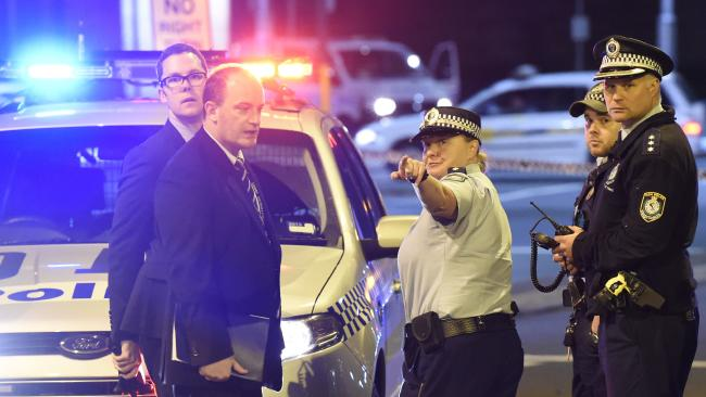 Queensland Police launch campaign to end non-emergency calls. Picture: Gordon McComiskie