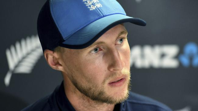 Joe Root said the Ashes was clean as far as he was concerned.