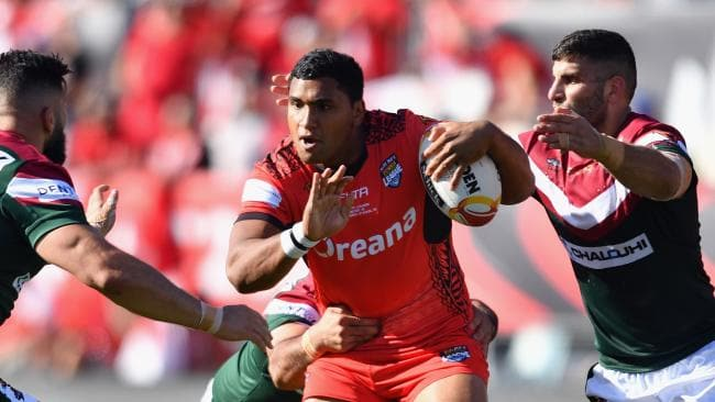 Pangai Junior was one of Tonga's best during the World Cup.