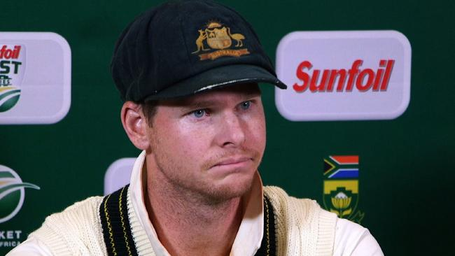 Steve Smith said it is a one-off incident. AFP PHOTO / AFP TV / STR