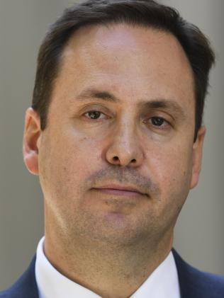 Australian Trade Minister Steve Ciobo. Picture: AAP Image/Lukas Coch