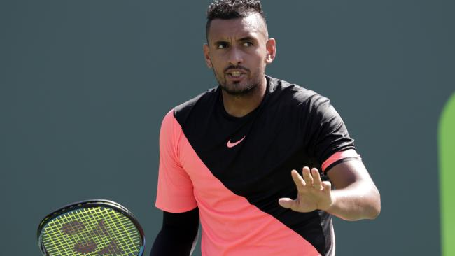 Nick Kyrgios, pictured, and Fernando Verdasco have taken part in a slanging match on Twitter.