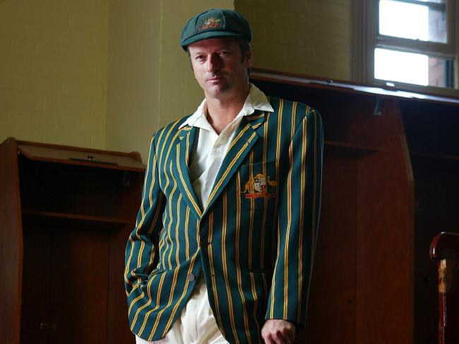 Steve Waugh always respected the baggy green.