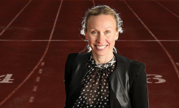 Commonwealth Games athletics commentator Tamsyn Lewis.
