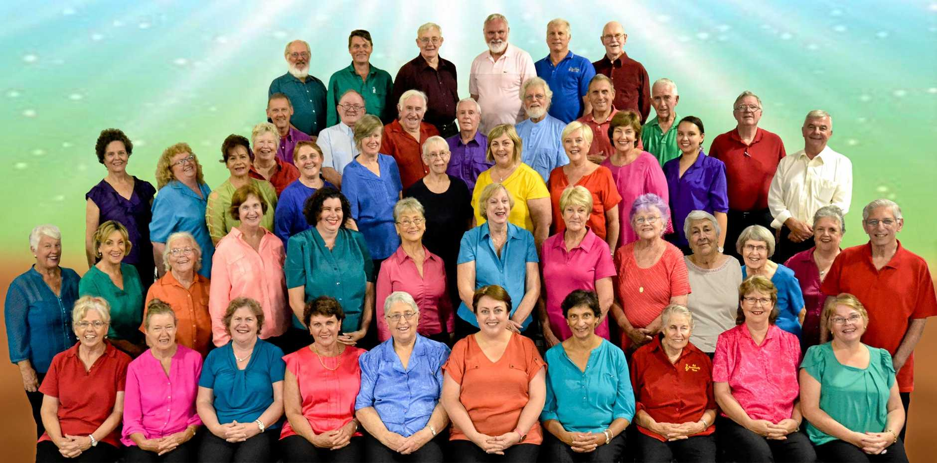 CONGRATULATIONS: The Esk Community Choir kicks off celebrations with an Opening Concert.