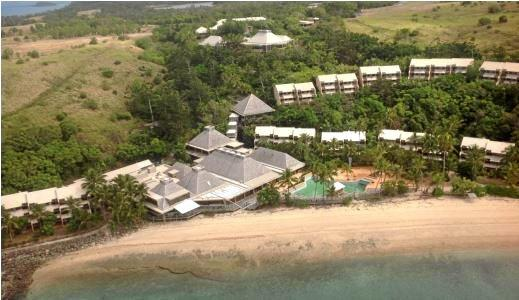 The state of the Beach Resort at Lindeman Island last year.