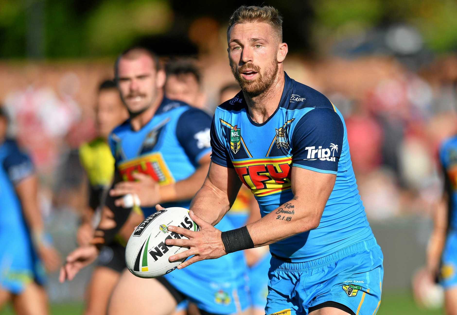 Bryce Cartwright has been relegated to the Titans bench.