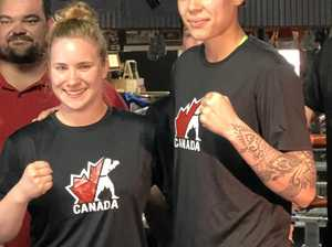 Toowoomba helps Canadian boxers prepare for Games