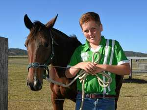 Will won't be horsing about with Baton Relay buddy