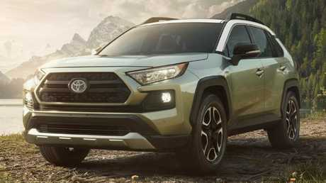 Toyota's all-new RAV4 has been unveiled ahead of the New York motor show. Picture: Supplied.