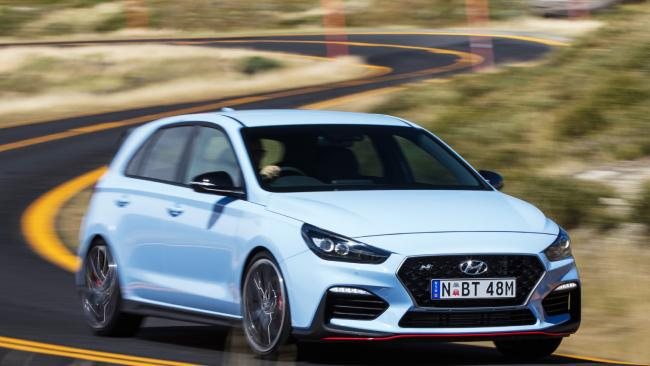 Hyundai is looking to shake up the hot-hatch market. Pic: Supplied.