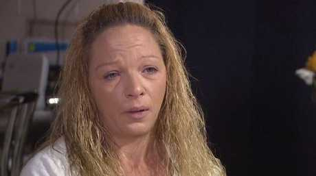 Sharlene Scott said she felt 'hopeless' because of what happened. Picture Channel Nine