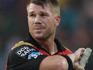 Warner falls on giant IPL sword